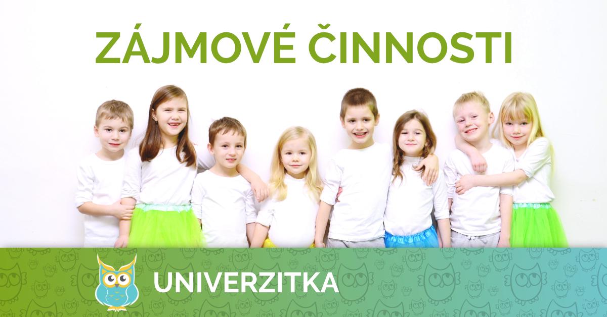 Univerzitka Brno - mateřská škola - zájmové činnosti