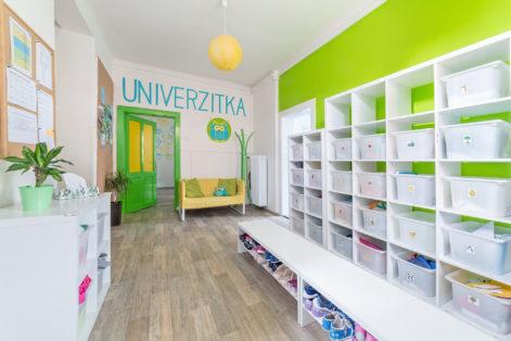 Univerzitka - mateřská školka v Brně