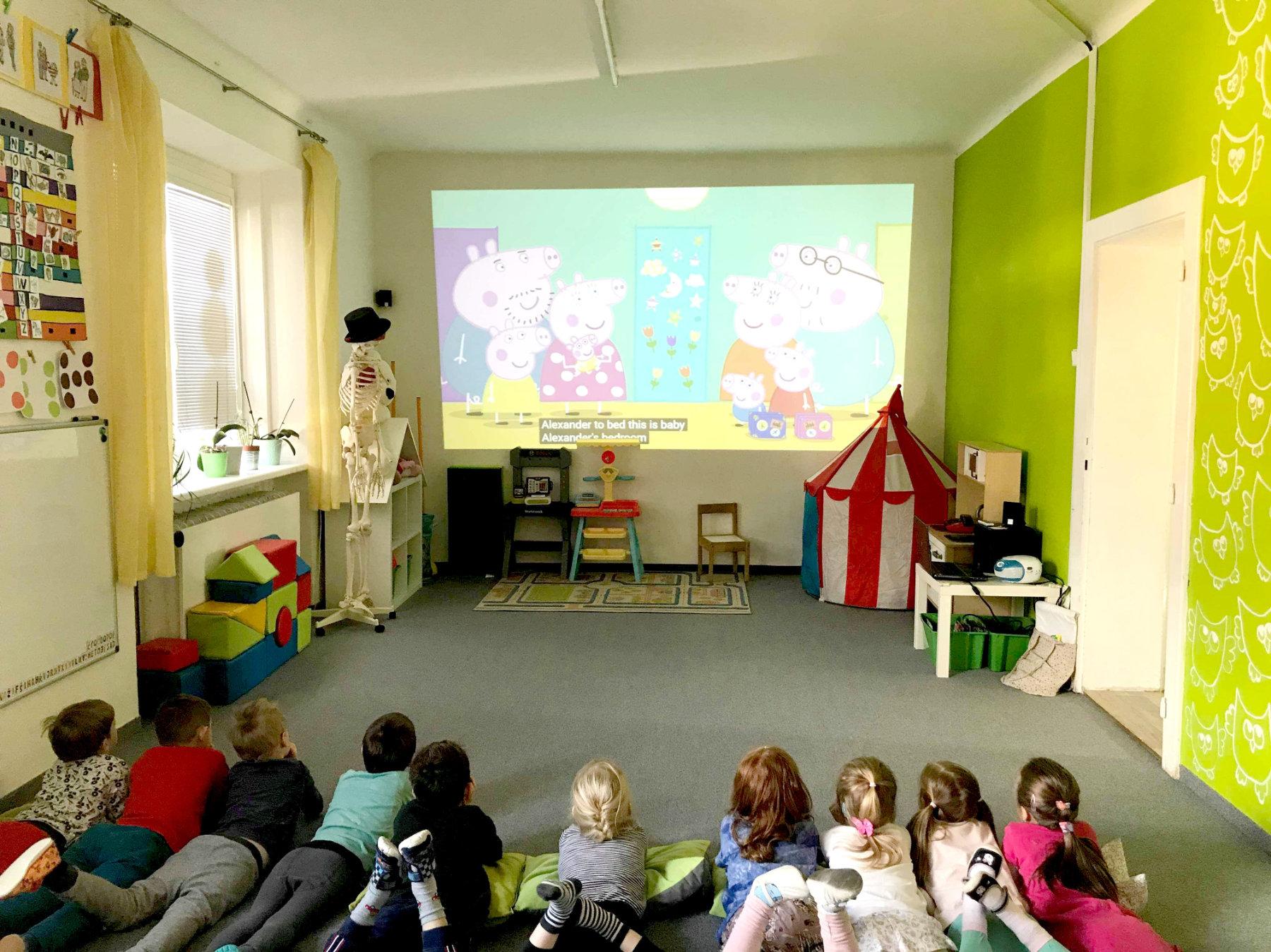 Univerzitka - materska skolka Brno - Anglicky jazyk