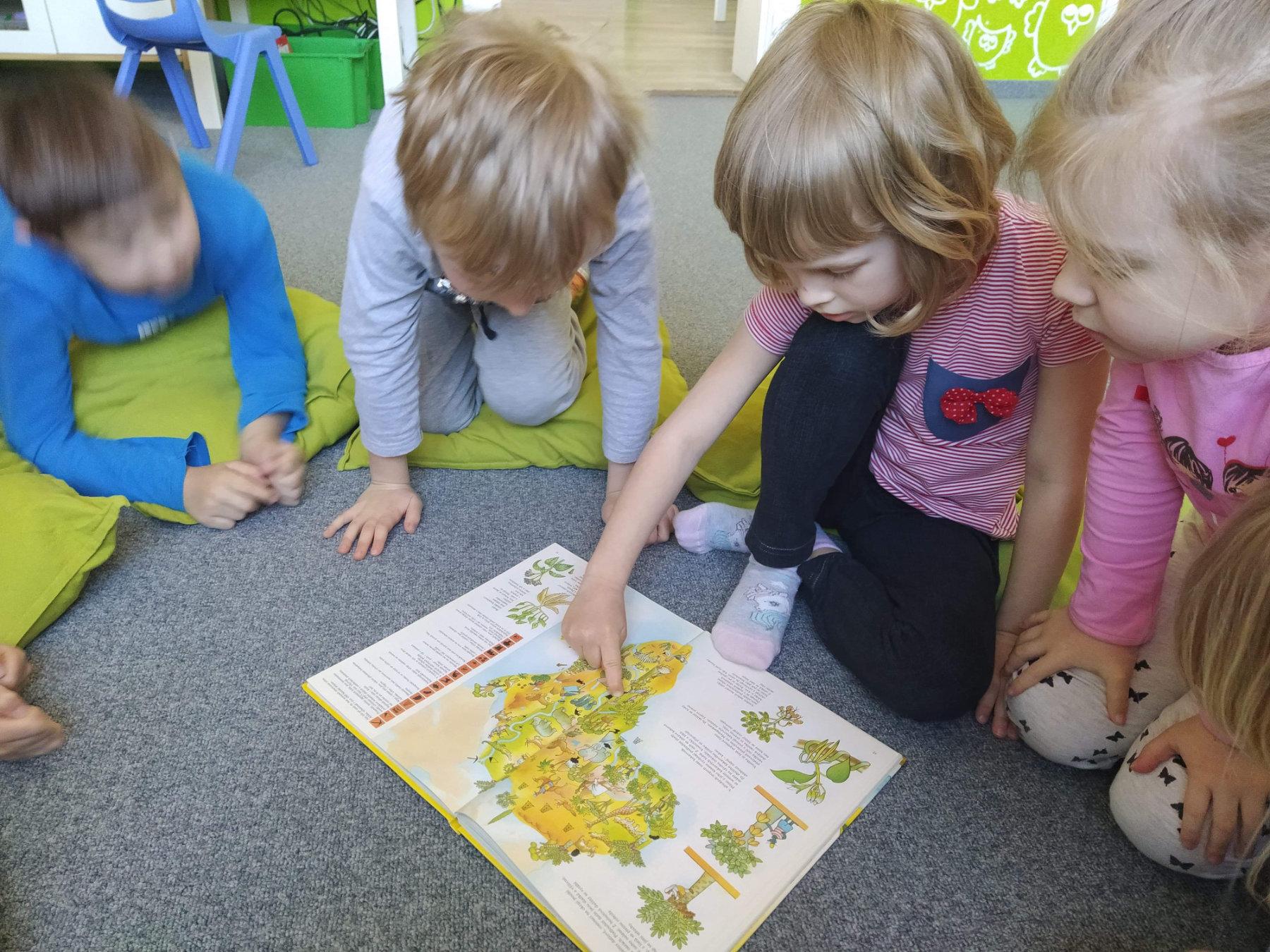 Univerzitka - materska skolka Brno - cestovatelský krouzek