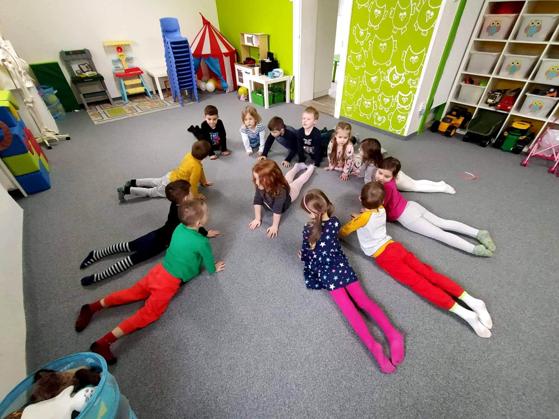 Univerzitka - materska skolka Brno - joga