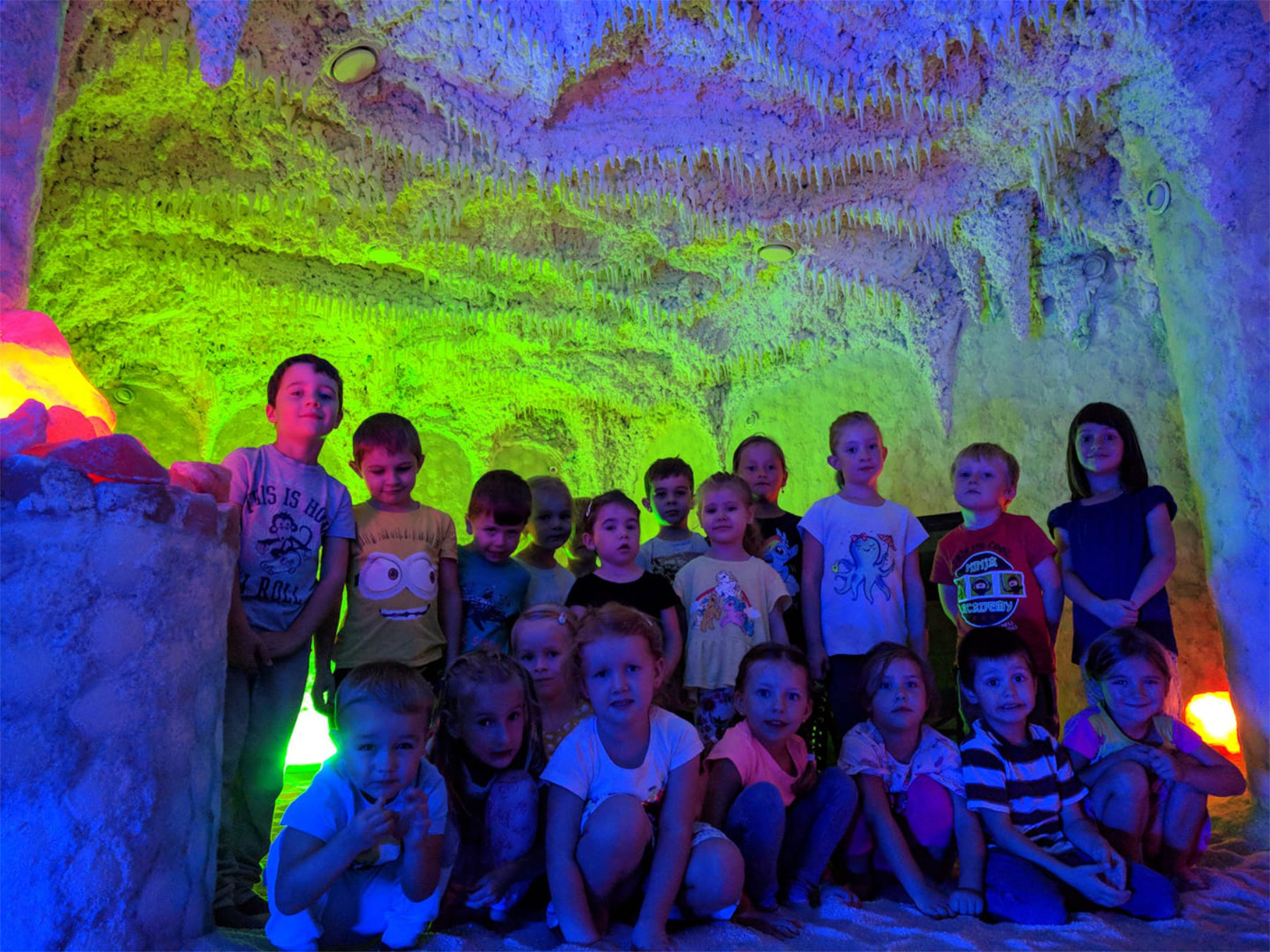 Univerzitka - materska skolka Brno - solna jeskyne