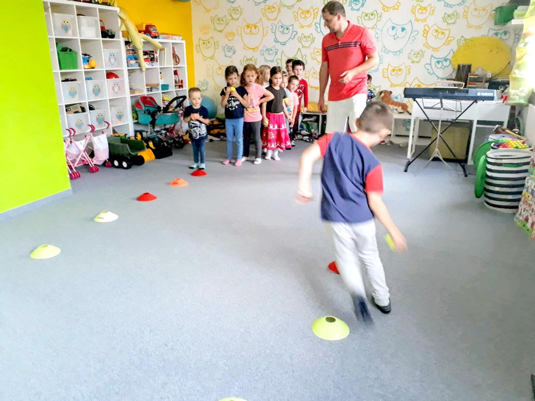 Univerzitka - materska skolka Brno - sportovni krouzek