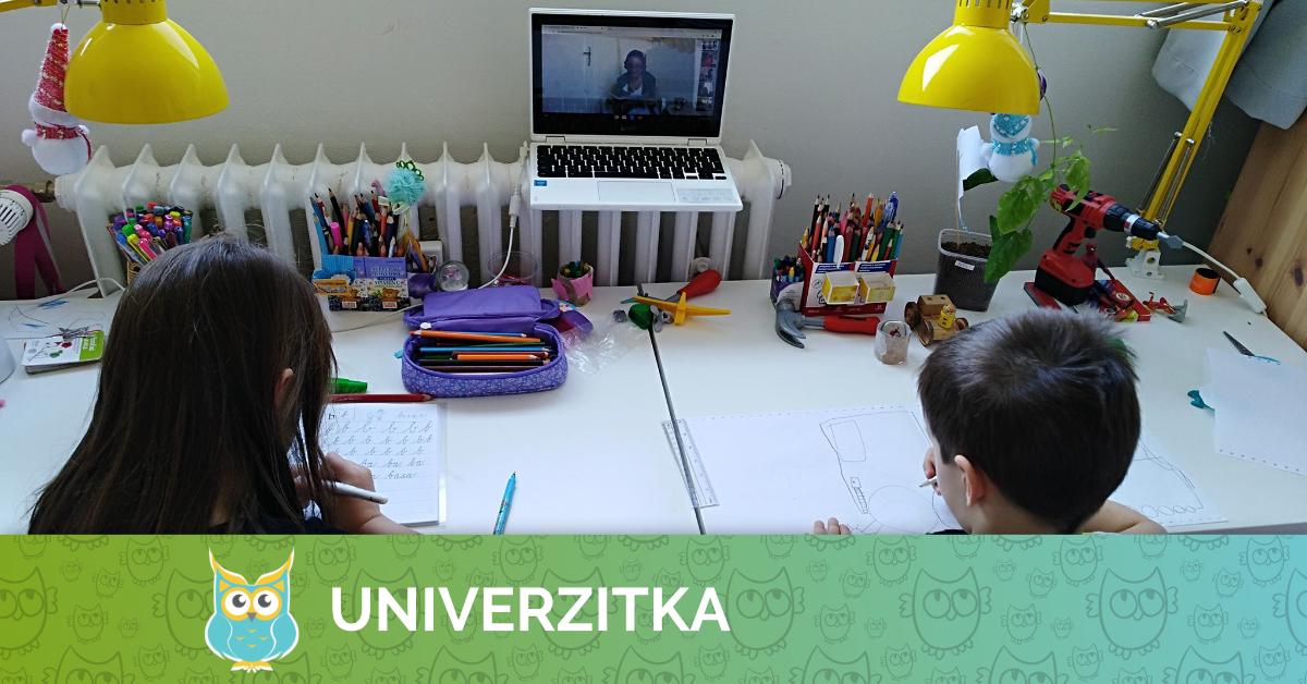 Univerzitka - Mateřská škola - Brno - Březen 2020 online