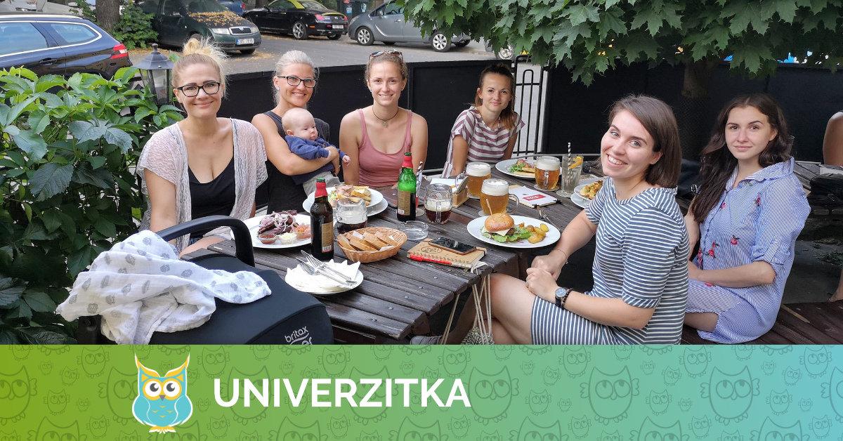 Červnový večírek UnivUčitelek