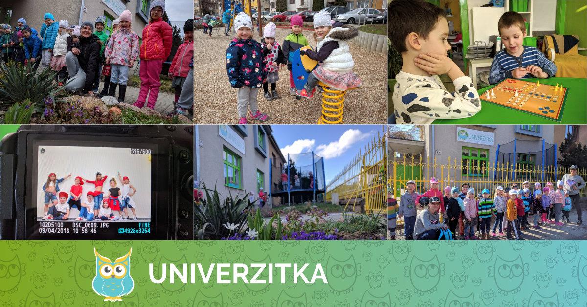 Duben 2018 v Univerzitce