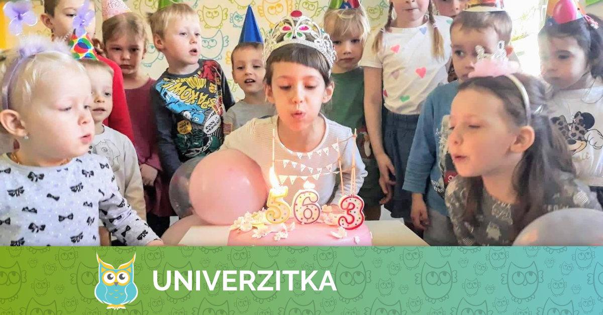 Dubnová oslava narozenin