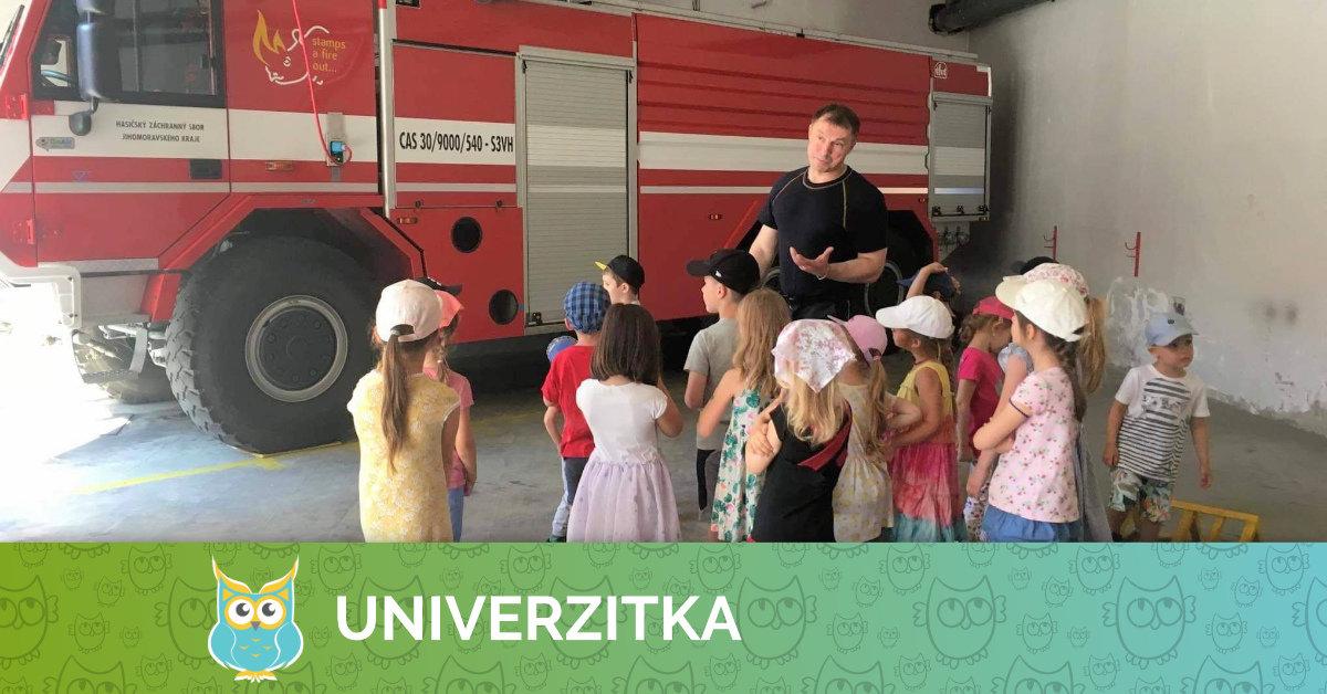 Exkurze u hasičů 21. 6. 2019