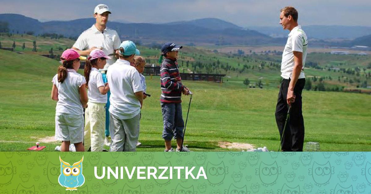 Golf v Univerzitce