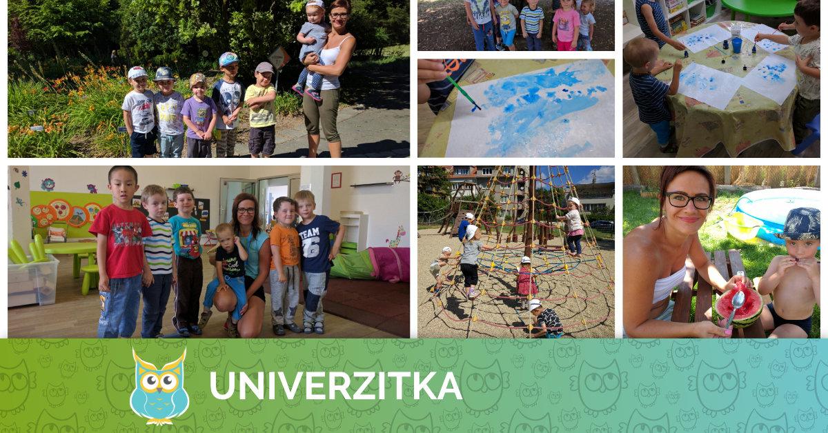 Léto 2016 v Univerzitce - info pro rodiče
