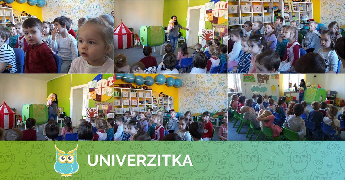 Medouškovo divadélko v Univerzitce 6. 3. 2019