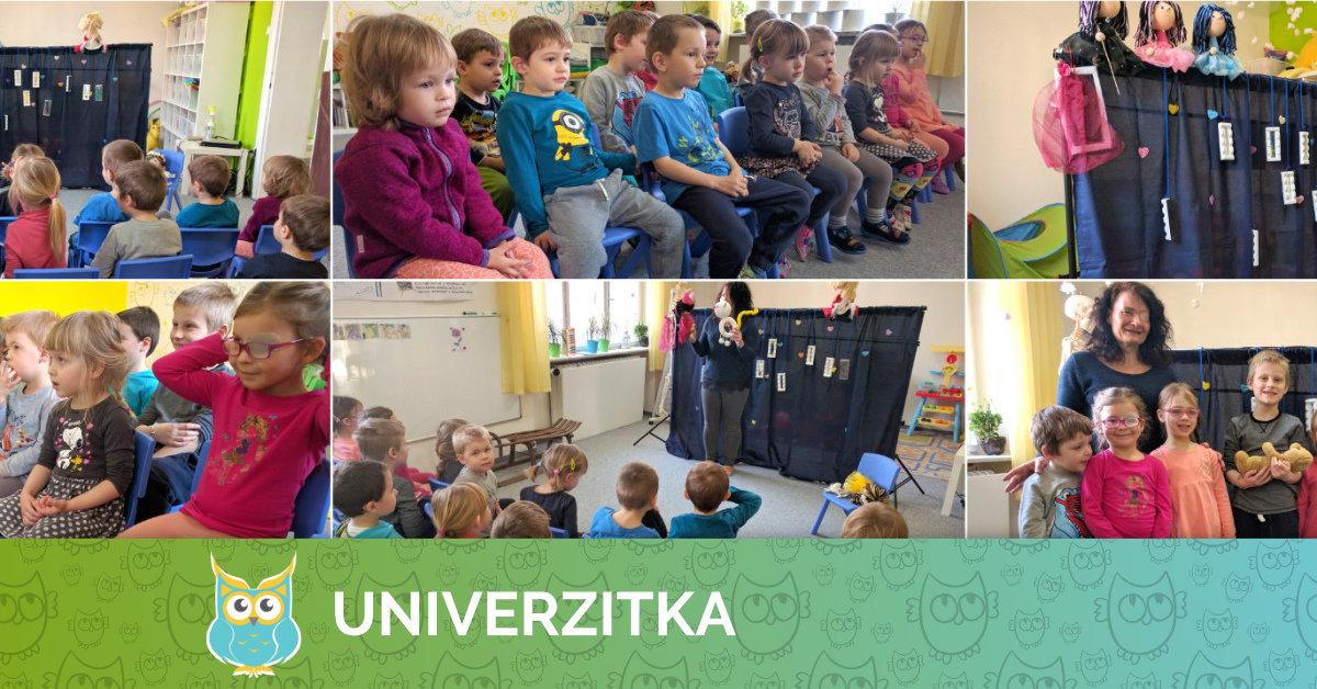 Medouškovo divadélko v Univerzitce (únor 2017)