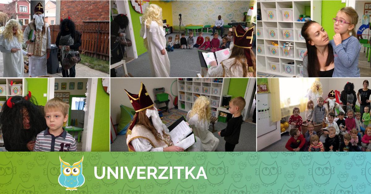 Mikulášská návštěva v Univerzitce
