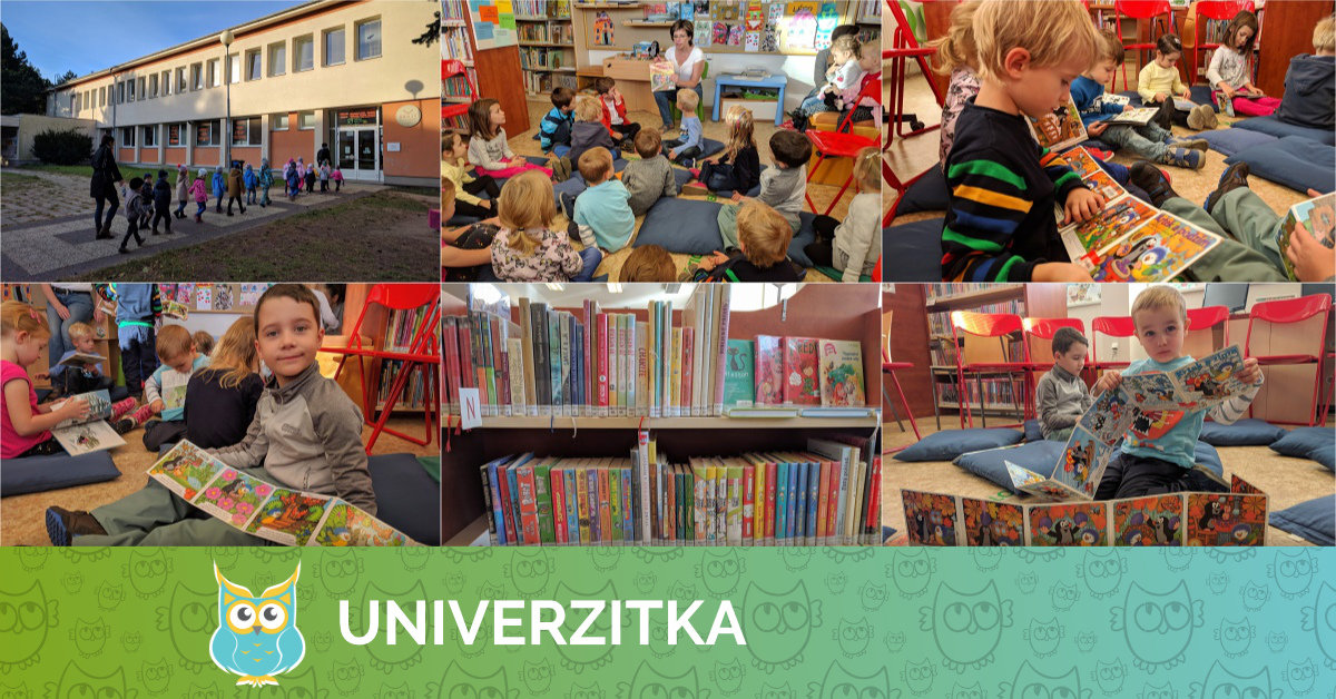 Návštěva knihovny 26. 9. 2018