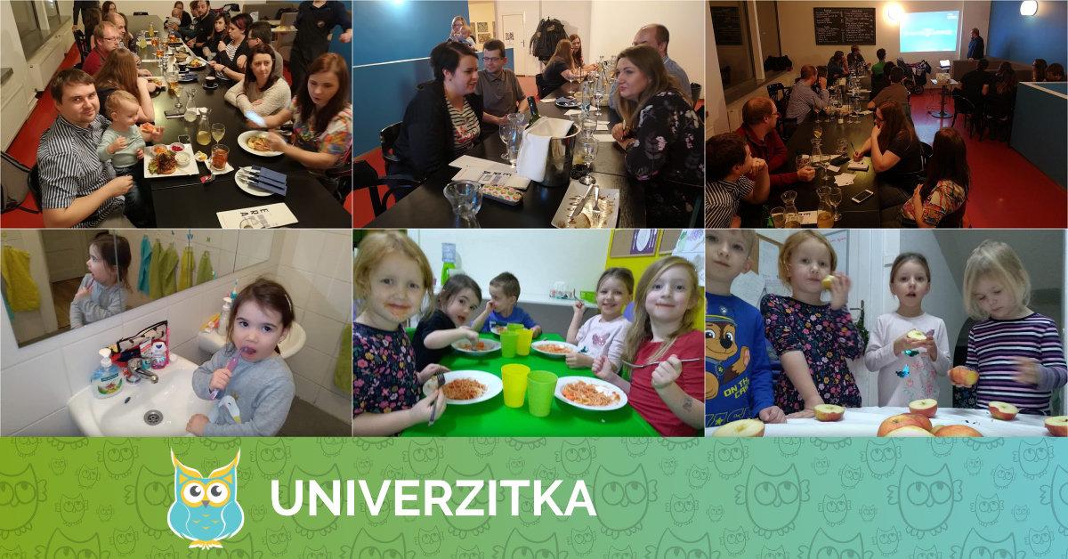 Noční Univerzitkování a Školka pro dospělé 7. 12. 2018
