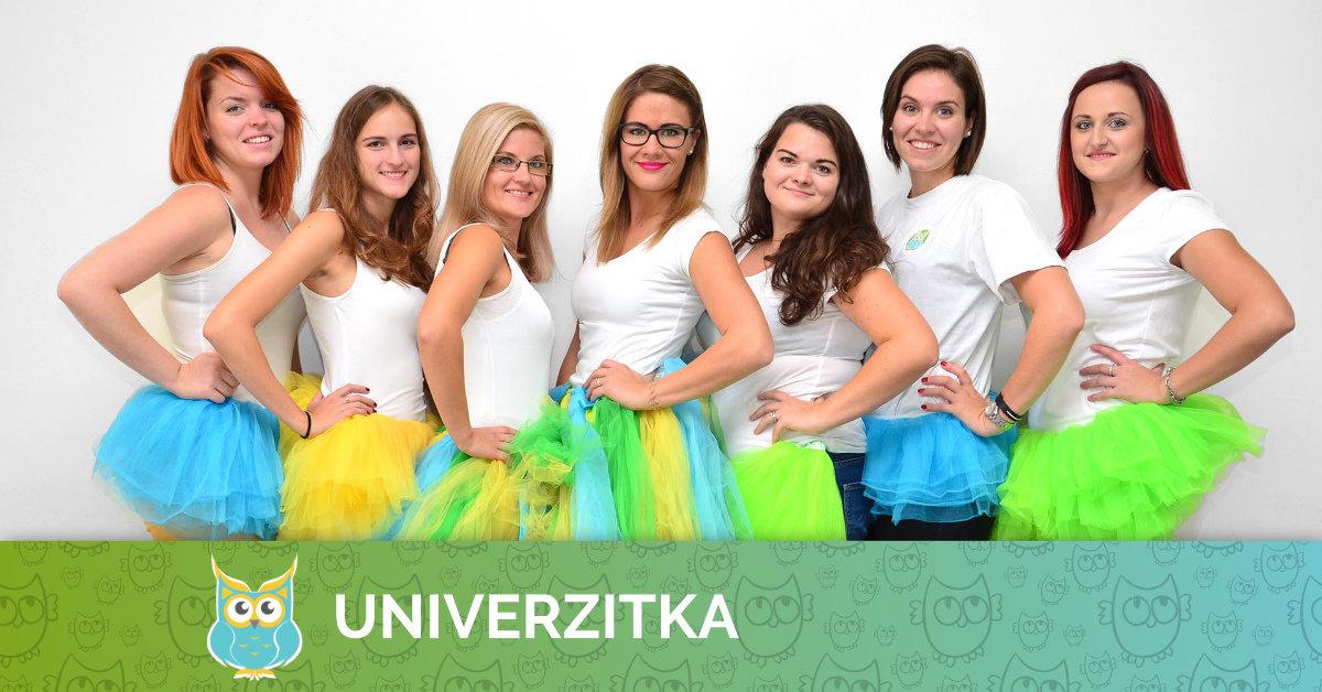 Pedagogický tým Univerzitky pro školní rok 2017/2018