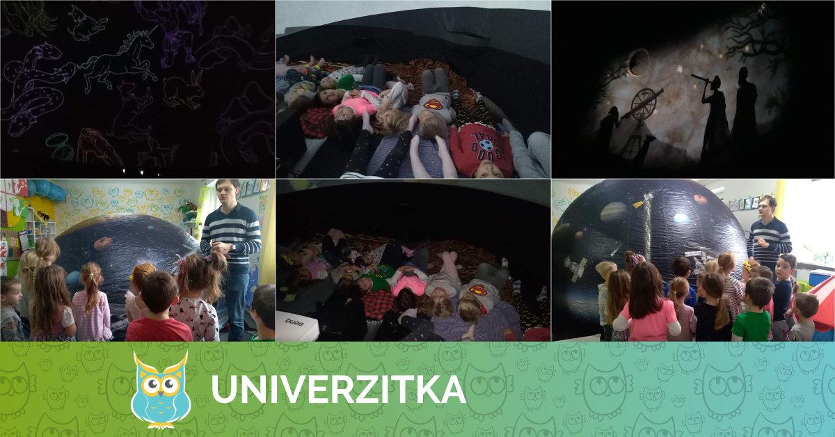 Planetárium v Univerzitce 1. 2. 2019