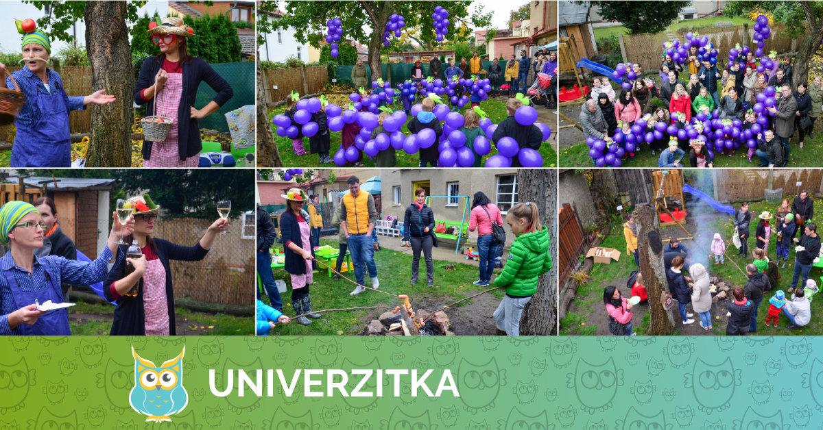 Podzimní hroznová slavnost v Univerzitce