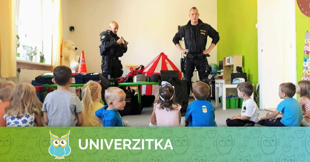 Policejní návštěva v Univerzitce
