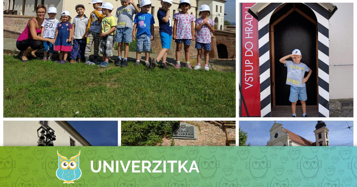 Poznáváme Brno – Univerzitka na Špilberku