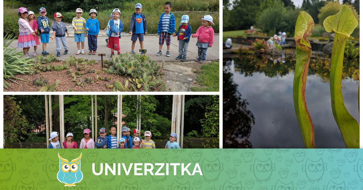 Poznáváme Brno - Univerzitka v Arboretu MENDELU