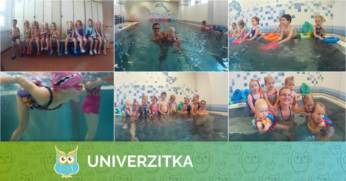 První hodina plavání v letošním školním roce