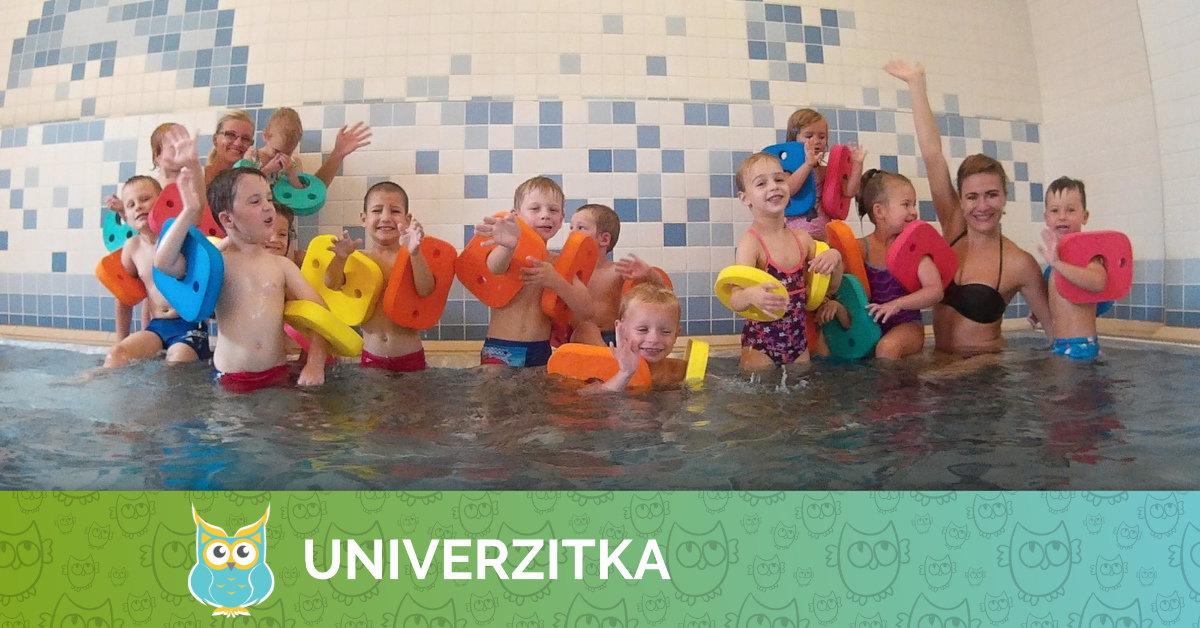 První lekce plavání v letošním školním roce