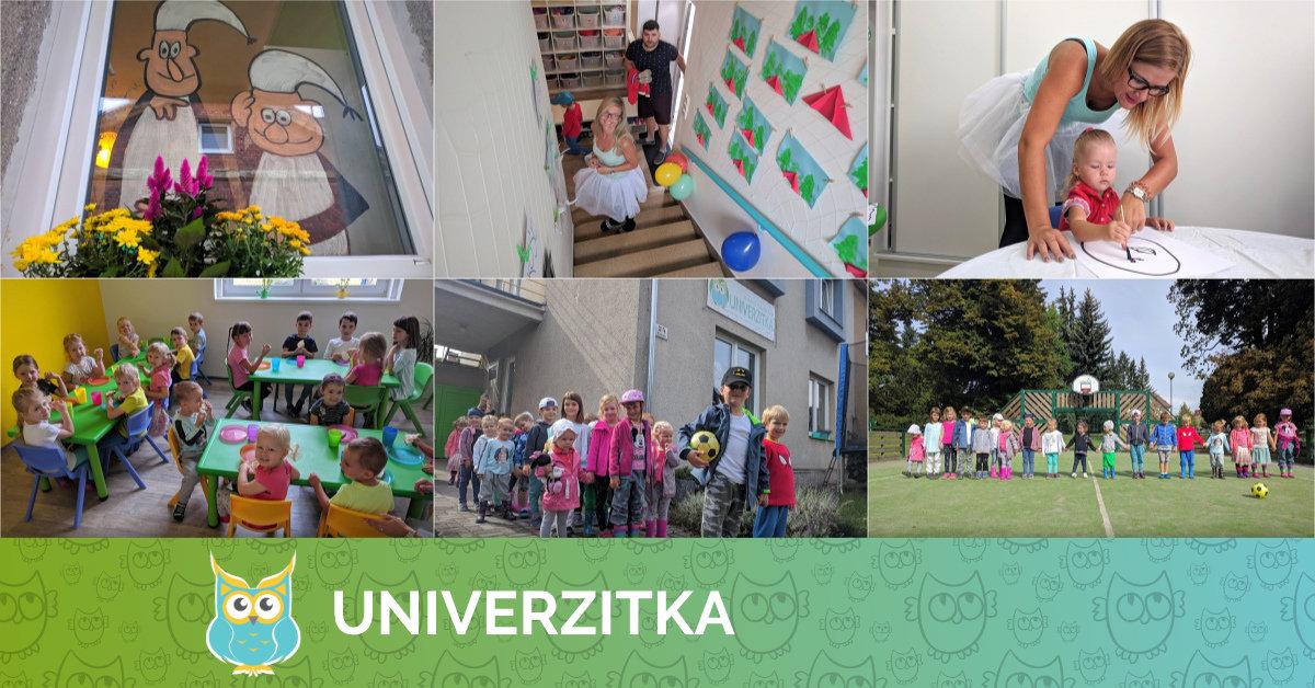 První školní den v Univerzice 3. 9. 2018