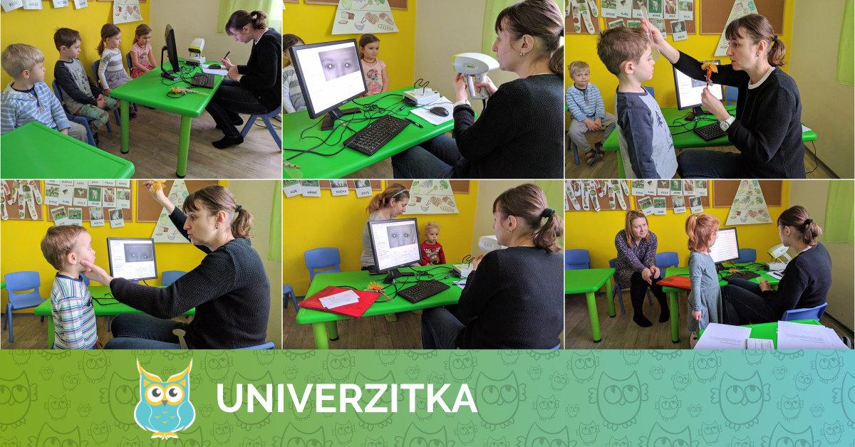 Screeningové vyšetření zraku dětí v Univerzitce