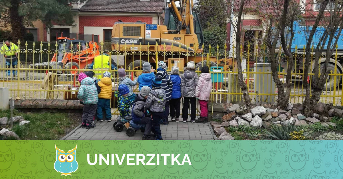 Stavební práce na ulici Muchova