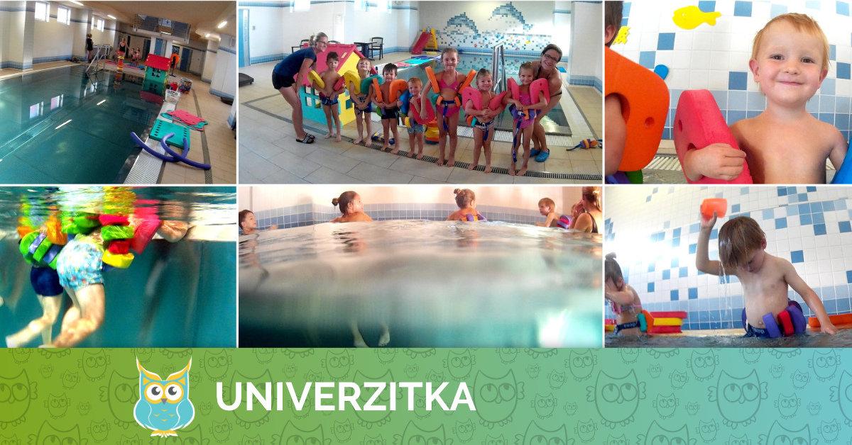 Univerzitka dále pokračuje v lekcích plavání