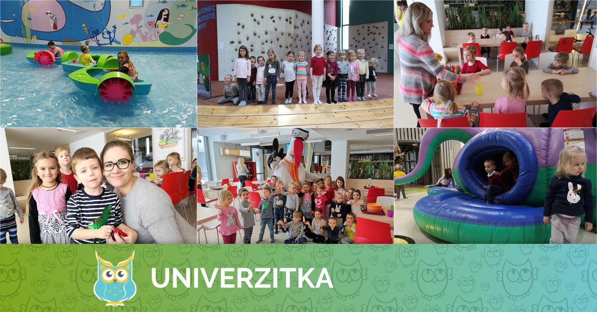 Univerzitka na narozeninové oslavě v BRUNO FAMILY PARKU