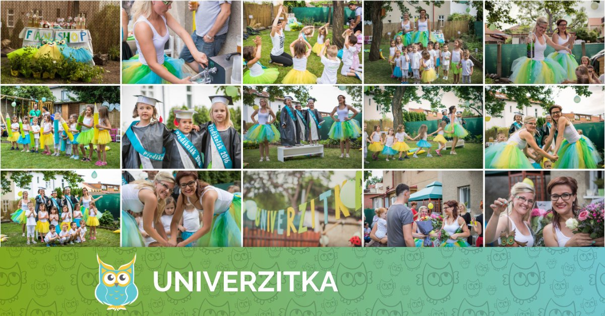 Univerzitka oslavila 1 rok!