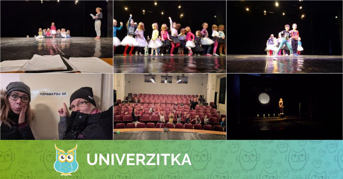 Univerzitka podruhé zkouší v divadle