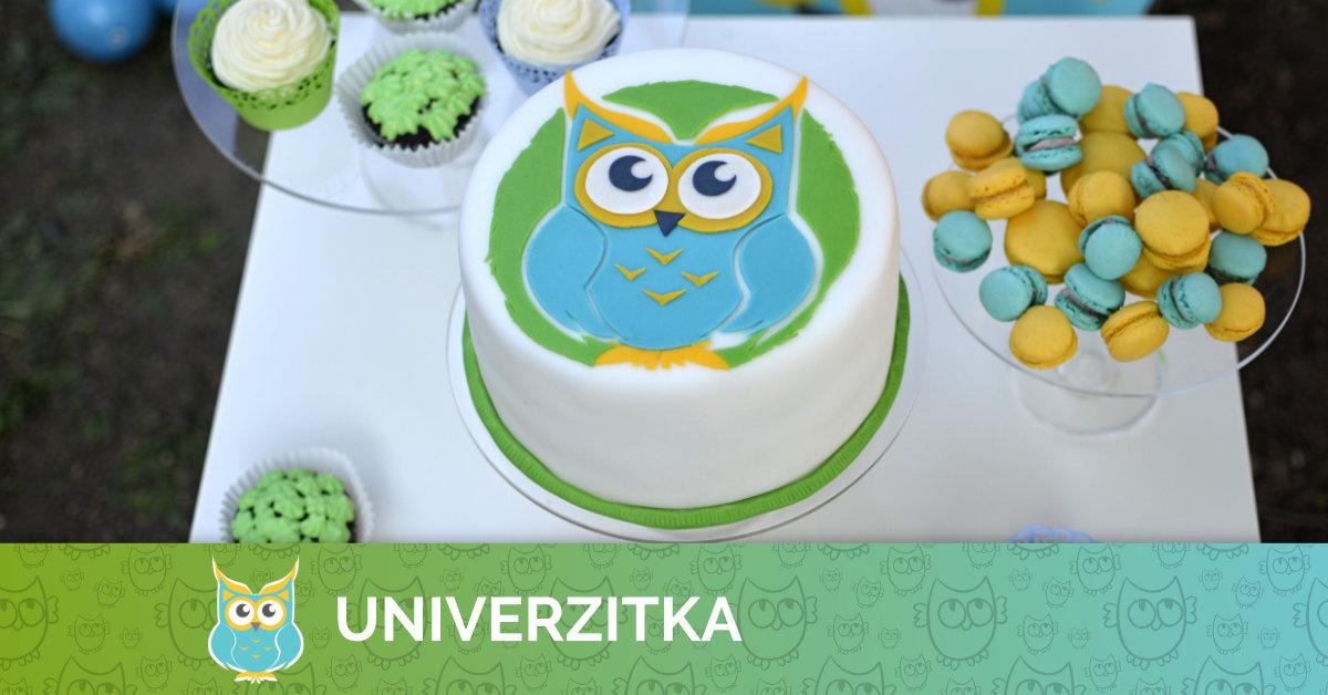 Univerzitka slaví 1 rok :)