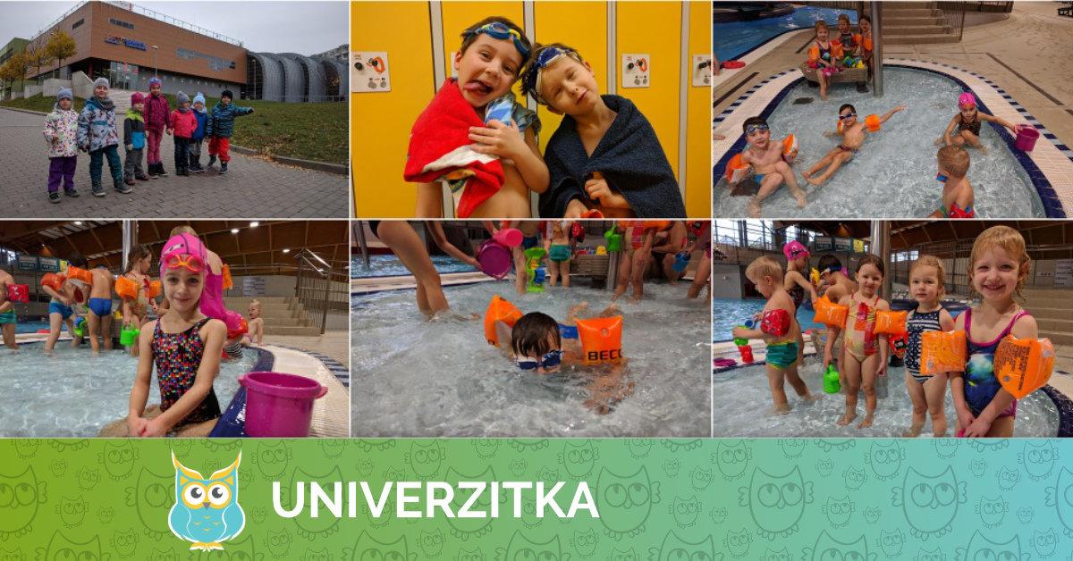 Univerzitka v Aquaparku Kohoutovice