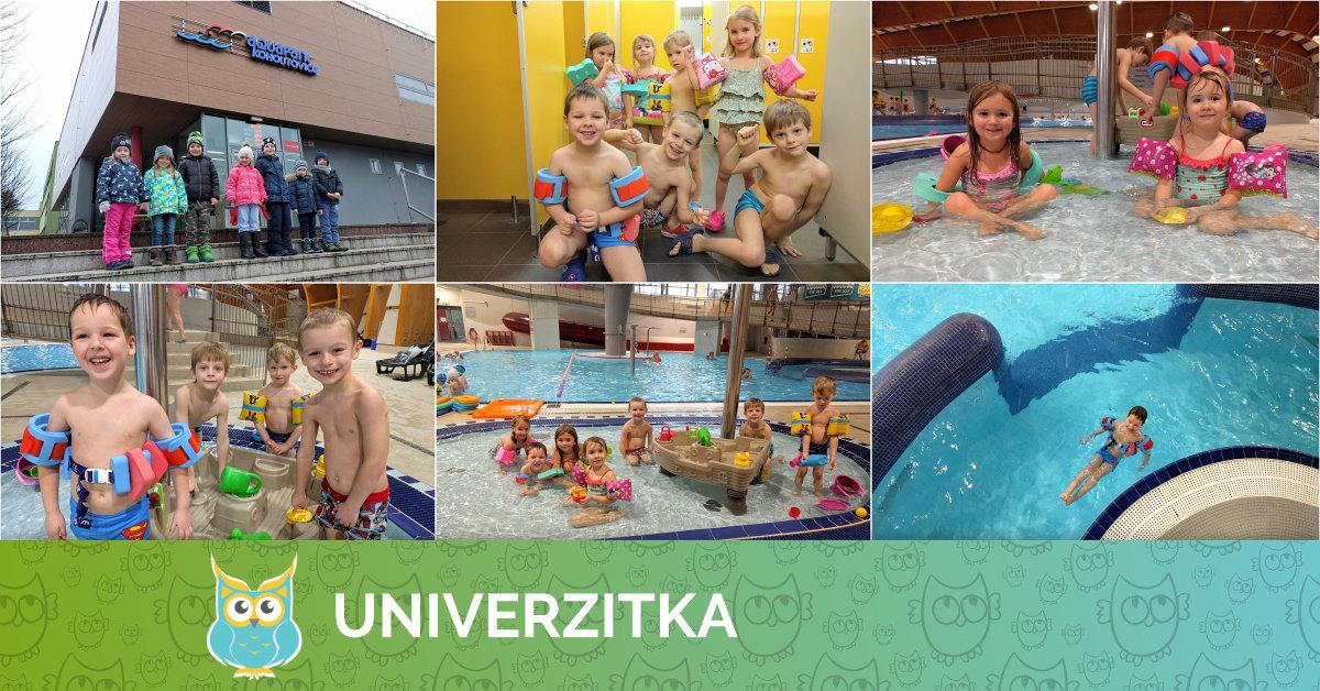 Univerzitka v aquaparku