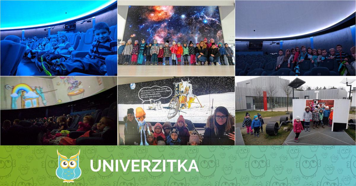 Univerzitka v planetáriu