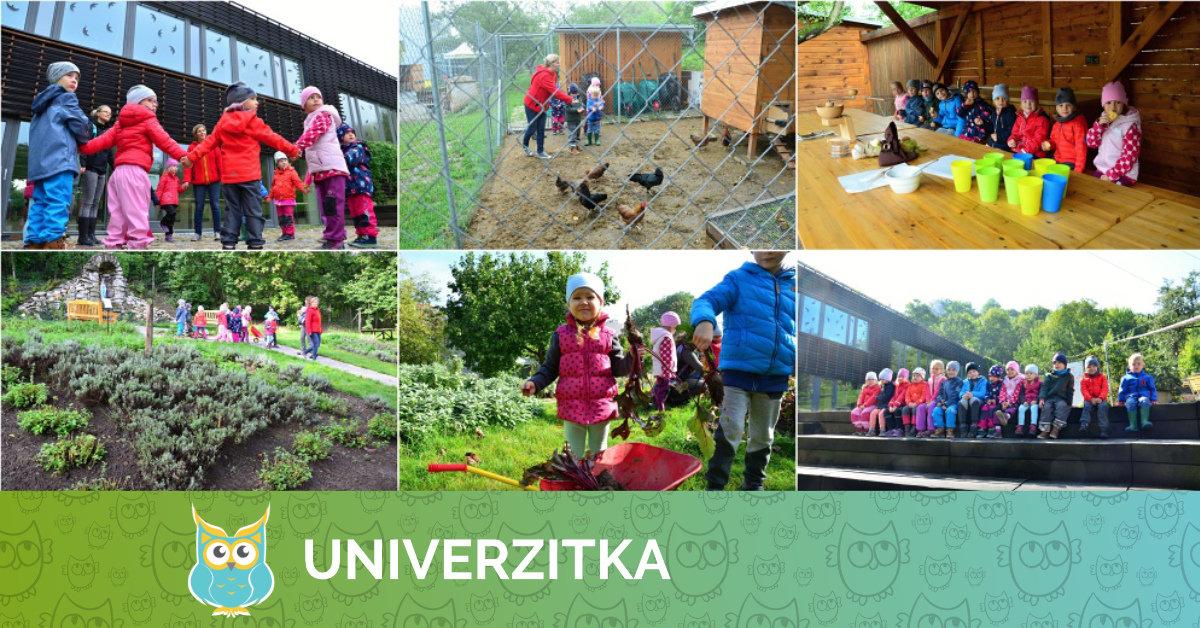 Výukový program v Otevřené zahradě