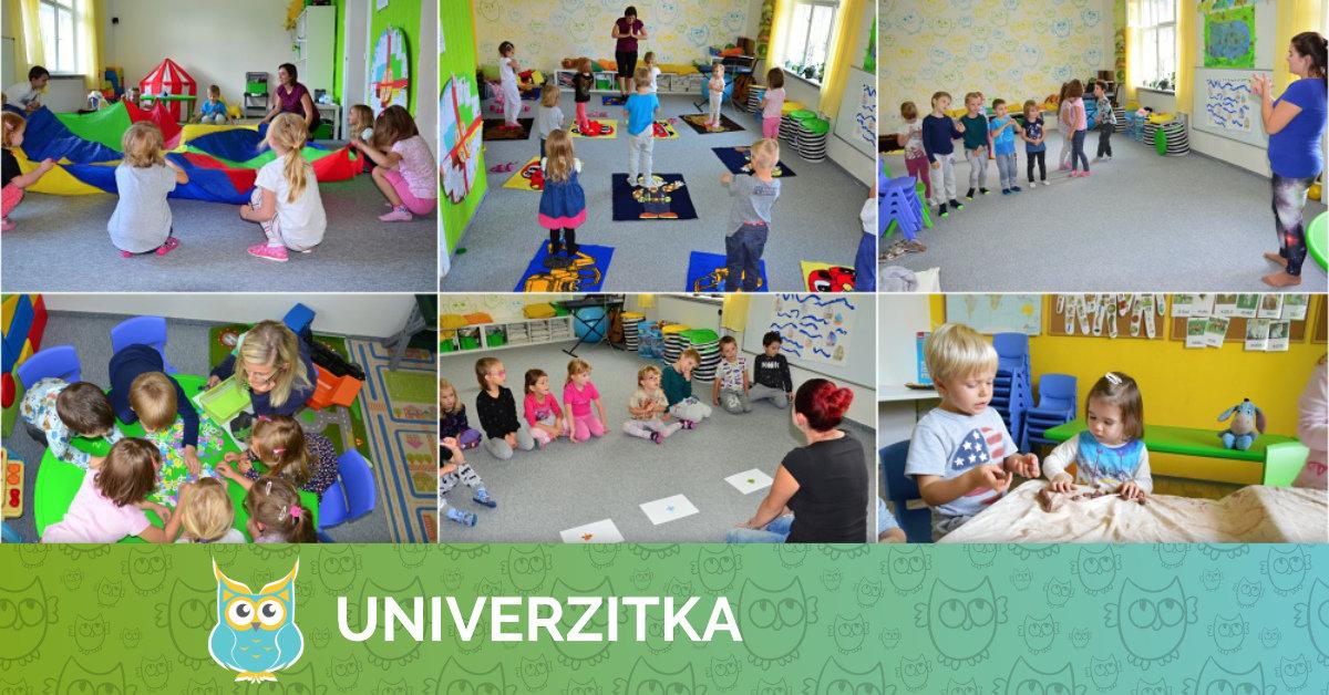 Zájmové činnosti pro školní rok 2017/2018 v Univerzitce