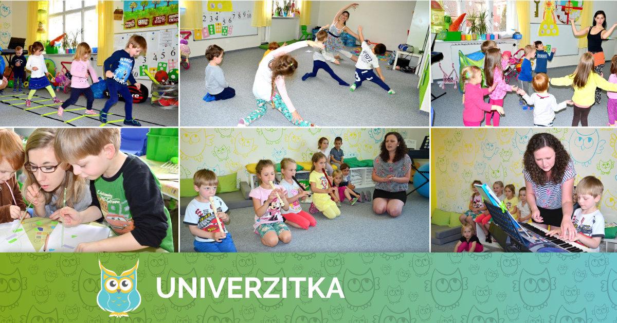 Zájmové činnosti v Univerzitce