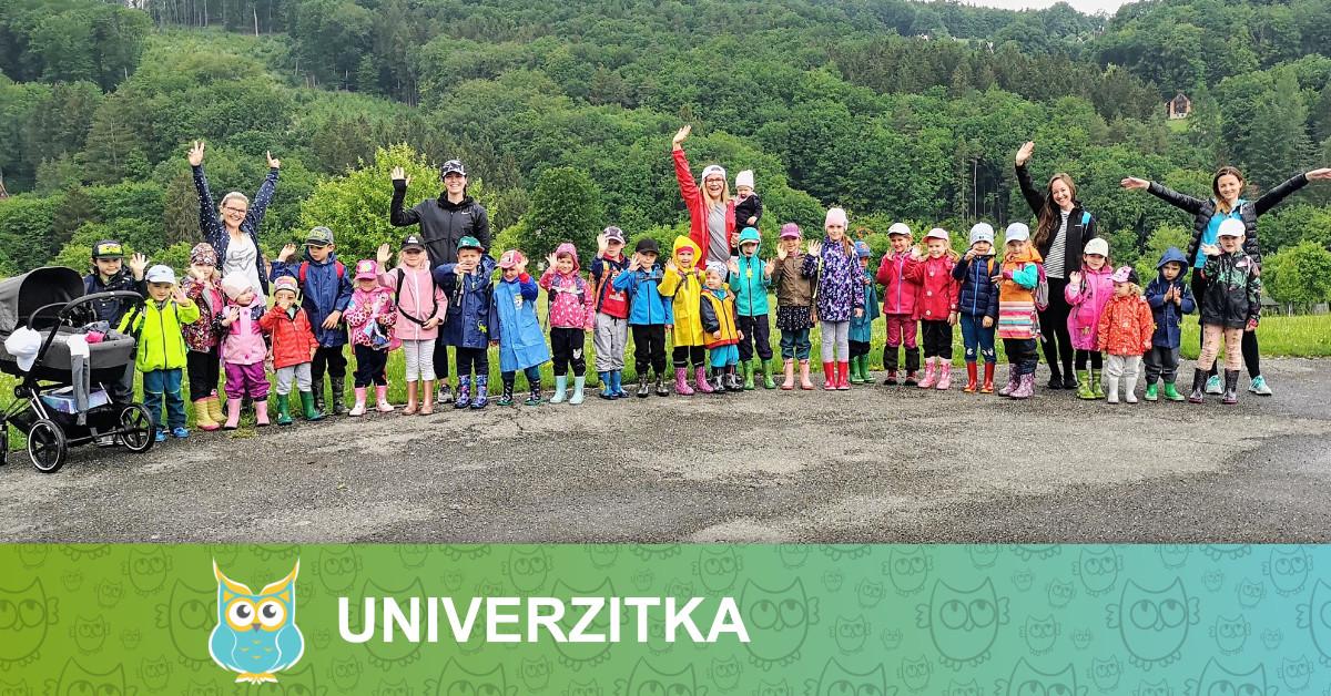 Školka Univerzitka - Školka v přírodě 2020