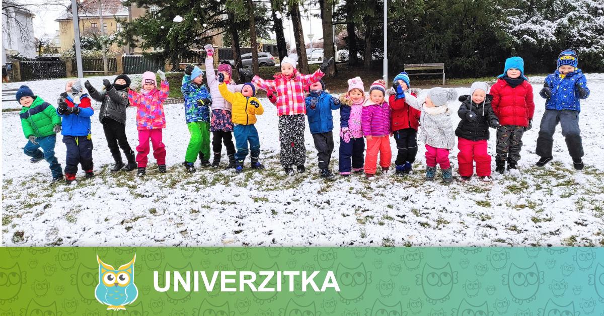 školka univerzitka - leden 2021